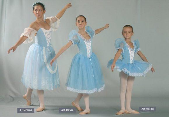 Costumi Giselle mod. 40044 e 40048
