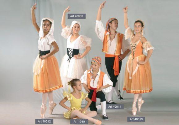 Costumi Tarantelle mod. 40012 - 1080 - 40014 - 40013
