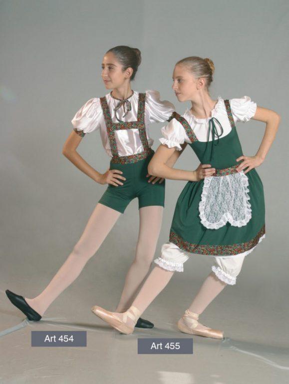 Costumi Tirolesi mod. 454 e 455